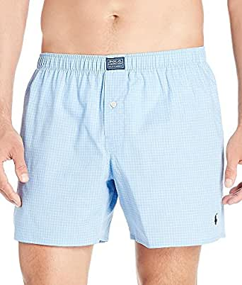Polo Ralph Lauren Plaid Woven Boxer, S, Bimini Plaid