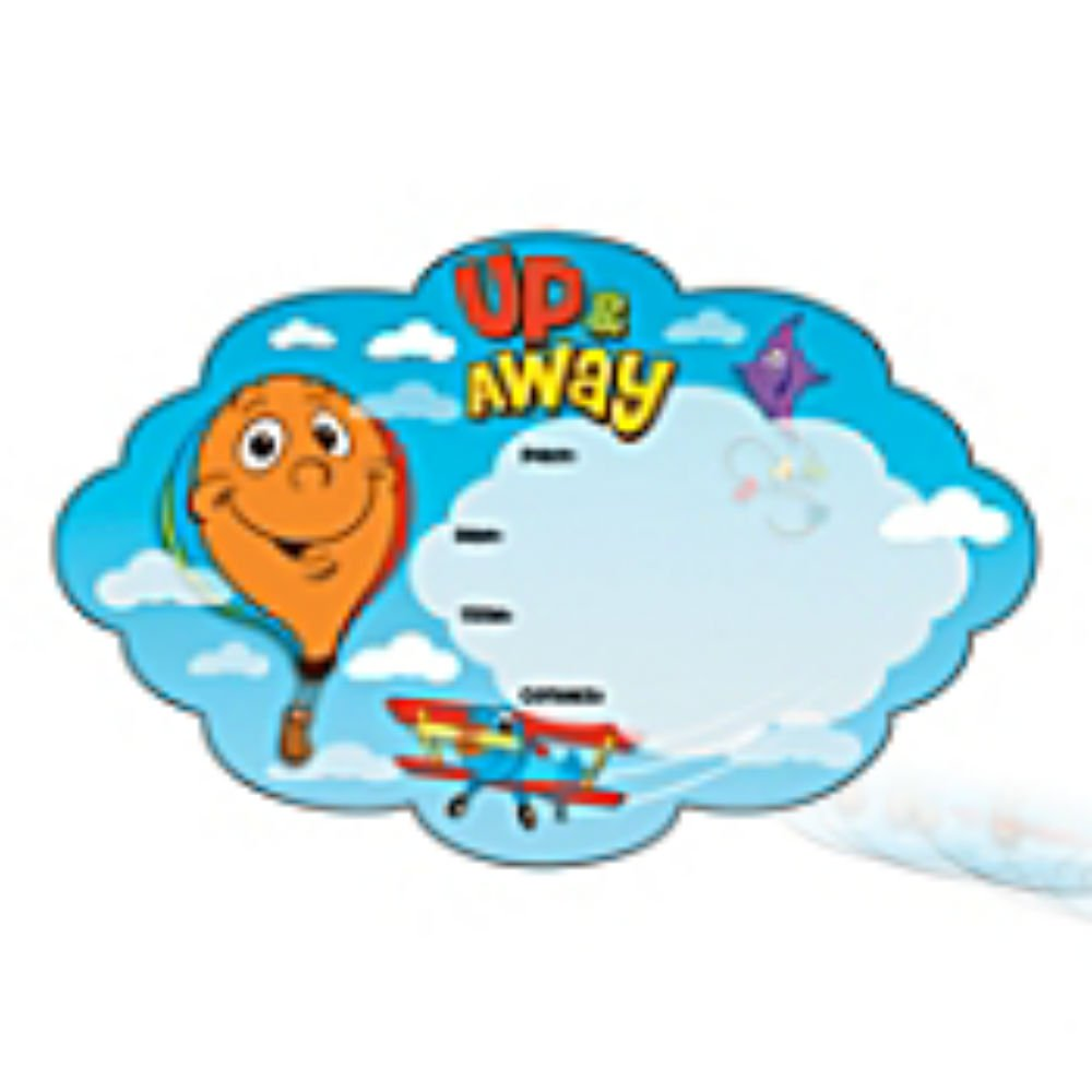 Up & Away FLOOR Window Clings Christmas Home Room Decorations Clings Decal