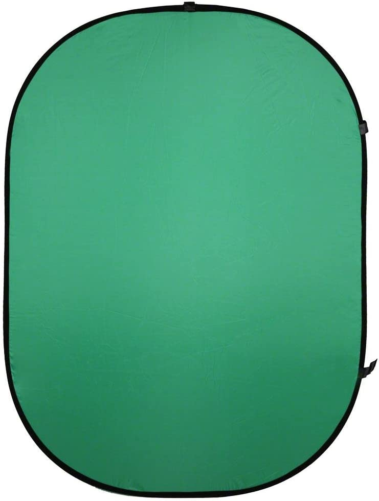 Walimex Falthintergrund Grün Kamera