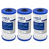AQUACREST AP810 Whole House Water Filter, Compatible with 3M Aqua-Pure AP810, AP801, Whirlpool WHKF-GD25BB, 5 Micron (Pack of 3)