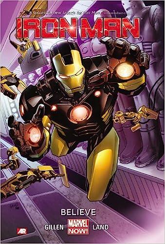 Amazon com: Iron Man Volume 1: Believe (Marvel Now