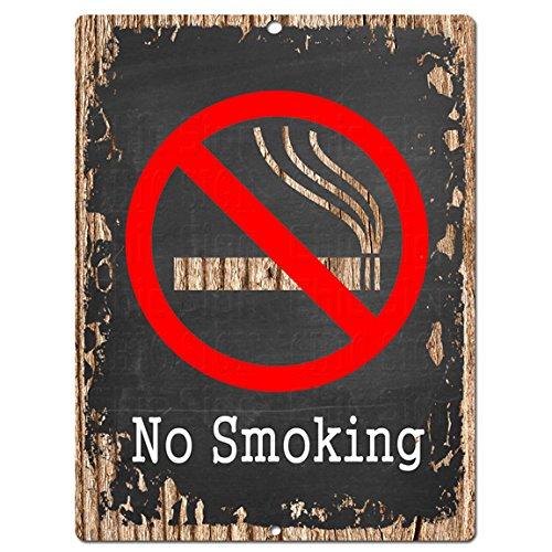 No Smoking Chic Sign Rustic Vintage Chalkboard style Retro Kitchen Bar Pub Coffee Shop Wall Decor 9