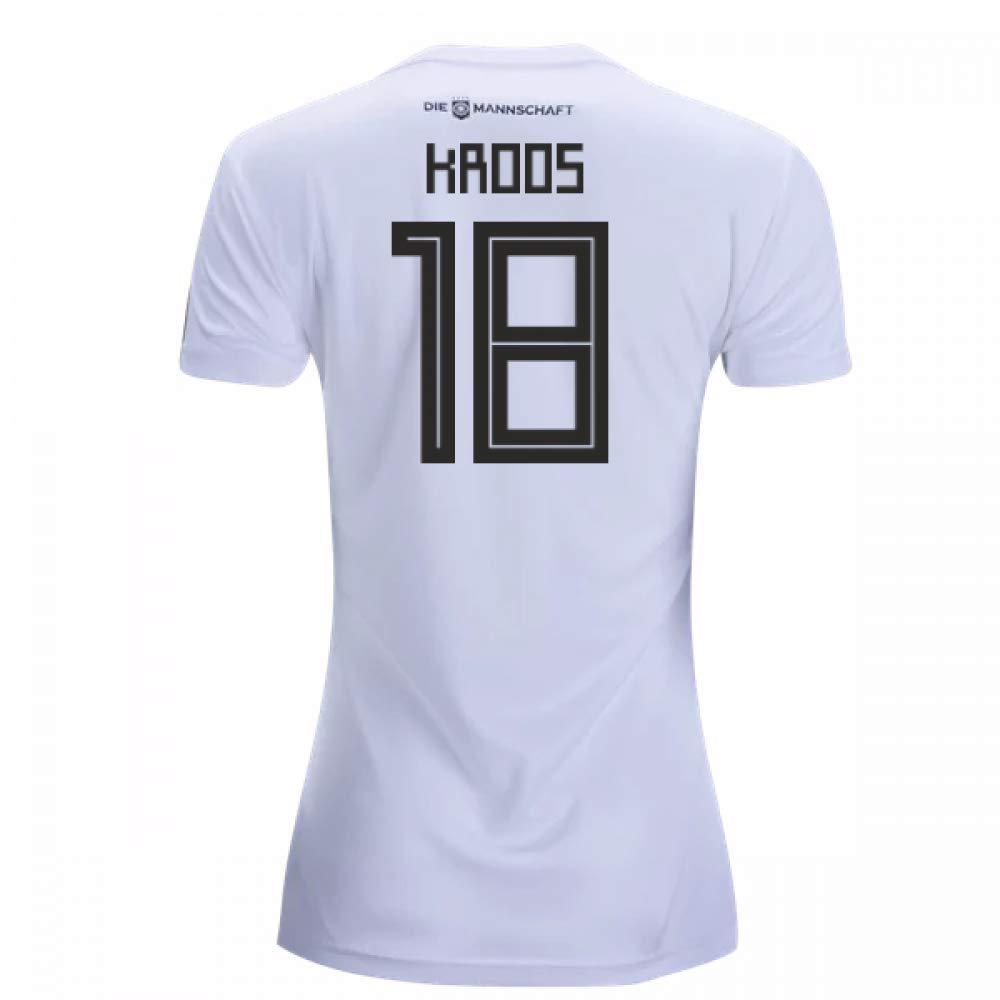 2018-19 Germany Home Damenschuhe Football Soccer T-Shirt Trikot (Toni Kroos 18)