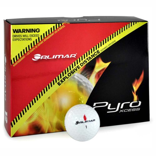 Orlimar Pyro – Non-Conforming Golf Balls (12-Pack), Outdoor Stuffs