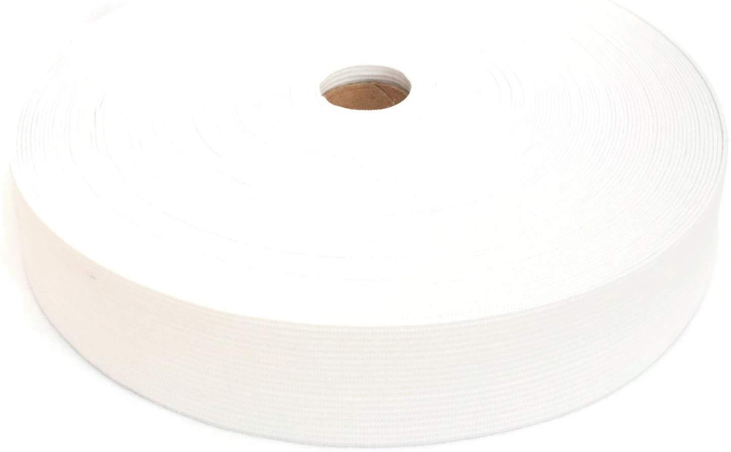 25 Meter Elastic Band 30 mm wide - White JAJASIO