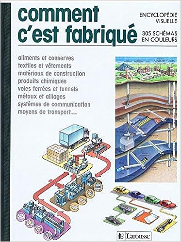 En ligne Comment c'est fabrique : encyclopédie visuelle... pdf, epub ebook