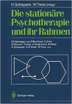 Book Die stationäre Psychotherapie und ihr Rahmen