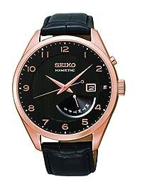 Seiko Men's SRN054 Analog Display Japanese Quartz Black Watch