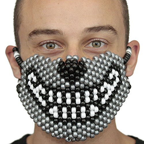 Kandi Gear Wolf Kandi Masks Rave Wear by