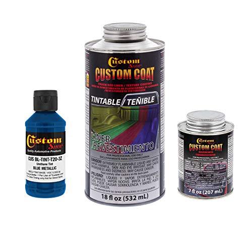 Custom Coat Blue Metallic 0.21 Gallon Urethane Spray-On Truck Bed Liner Kit