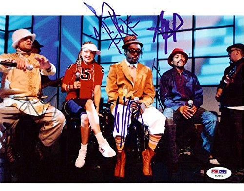 Black Eyed Peas Certified Authentic Autographed Signed 8x10 Photo Fergie - PSA/DNA (Black Eyed Peas Photograph)