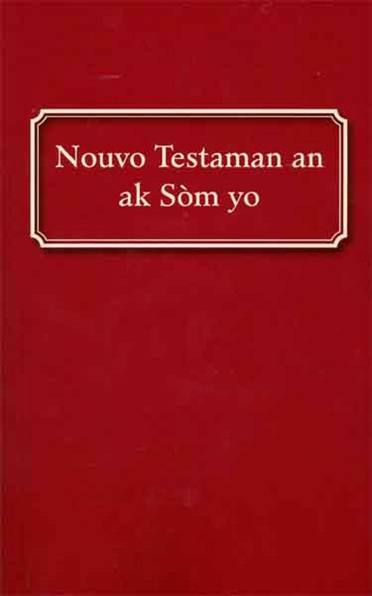 Haitian Creole New Testament Psalms product image