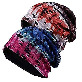 Wimdream Mens Slouchy Beanie Hat Thin Baggy Summer Skull Cap - - Medium