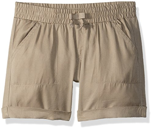 Gymboree Little Girls' Pull-on Shorts, Khaki, 12 by Gymboree