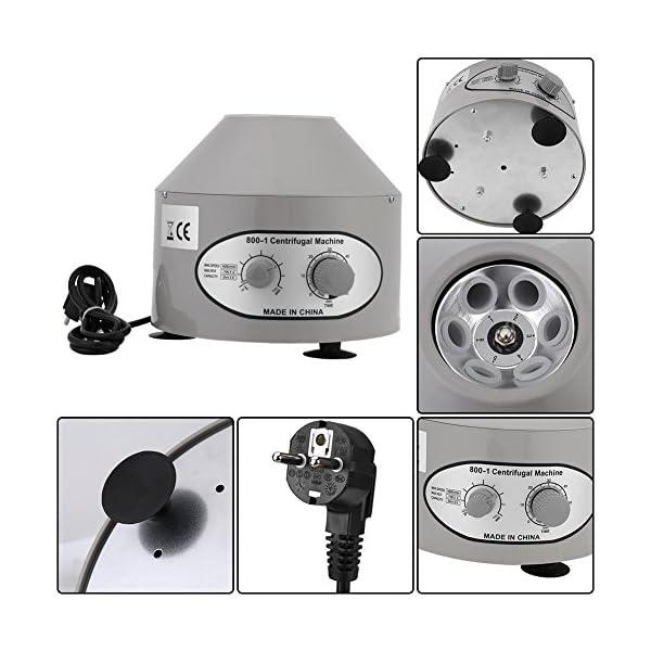 Greensen Centrifuga da Laboratorio, Macchina elettrica della centrifuga, Centrifuga da Tavolo Regolabile, centrifuga… 4 spesavip