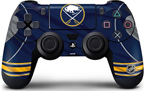 (Skinit Buffalo Sabres Home Jersey PS4 Controller Skin - Officially Licensed NHL Gaming Decal - Ultra Thin, Lightweight Vinyl Decal Protection)