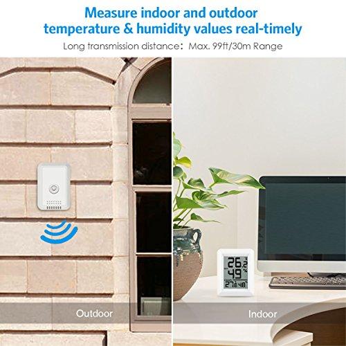 Buy indoor/outdoor thermometer