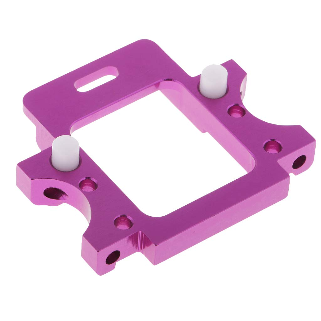 Lila Baoblaze RC 1:10 Aluminum Front Gear Holder Mount Part f/ür HSP RC Auto Crawler