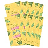 FaceTory Glow Baby Glow Niacinamide and Cica Brightening Sheet Mask (Pack of 10)