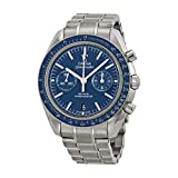 Omega Speedmaster Moonwatch Co-Axial Blue Dial Stainless Steel Mens Watch 31190445103001