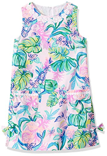 Lilly Pulitzer Girls' Toddler Little Lilly Classic SHIF, Amethyst Tint Mermaid in The Shade, ()