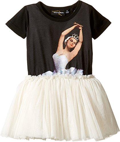 [Rock Your Baby Baby Girl's Dance Rehearsal Circus Dress (Toddler/Little Kids/Big Kids) Black Dress] (Circus Dress)