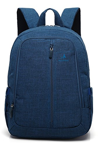 Kayond Slim Laptop Backpack -Ultralight Water Resistant Nylon Fabric EPE Foam Sandwich-Classic for School and Bussiness (Blue)