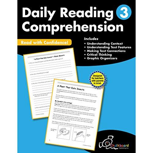 Daily Reading Comprehension Grade 3 (Chalkboard Publishing Workbooks)