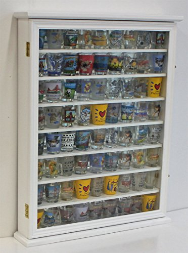White Wall Display Case For Displaying Just The Right Shoe Or Miniatures Figures by Display Case