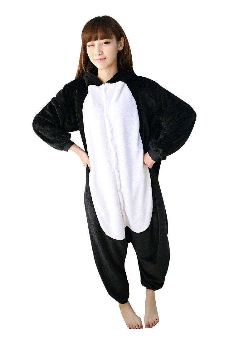 Molly Kigurumi Pijamas Traje Disfraz Animal Adulto Animal Pyjamas Cosplay Homewear M Negro Gato