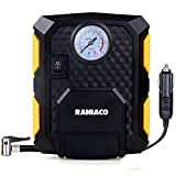 Image of Raniaco 12V DC 150PSI Portable Electric Auto Air Compressor Pump and Car Tire Inflator (Black)