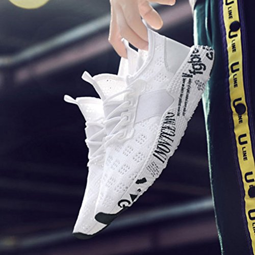 Jogging Respirant Tissage Outdoor Multisport de Courir Marcher Running Chaussure en pour Antid Sneaker Homme HqZ0Rn