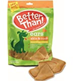 Better Than Ears Premium Dog Treats, Cheese and Bacon, 9 Count