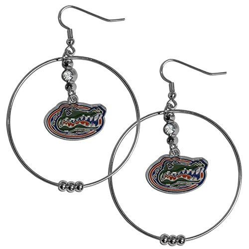- Siskiyou NCAA Florida Gators Hoop Earrings