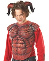 California Costumes Men's Demon Horns W/Teeth Costume Accessory
