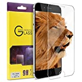ATGOIN Screen Protector, Tempered Glass (0.2mm, 2.5D), (No Bubble), 9H Hardness Fit for Apple iPhone 7 Plus and iPhone 6/6S Plus - Clear