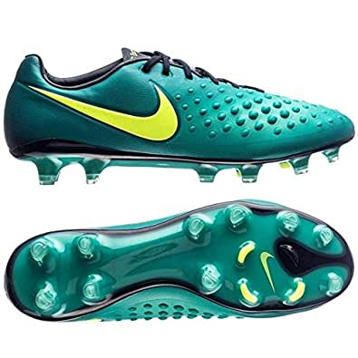 Amazon.com | Nike Jr Magista Obra II FG Rio Teal/Volt ...