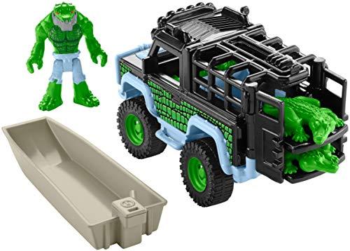 Fisher-Price Imaginext DC Super Friends Legends of Batman, K. Croc & 4x4 - Figures, Multi Color ()