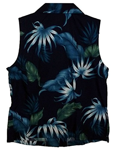 2xl Hawaïenne Authentique Hawaienne S Originale Bleu Chemisier xwX4BRqF