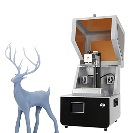 Impresora 3D Impresora LCD 3D Innovación ensamblada Gran Pantalla ...