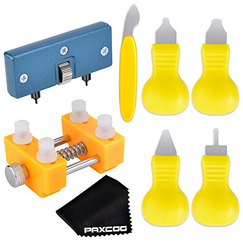 Paxcoo Watch Battery Replacement Tool Kit for Watch Back Remover Opener and Watch Repair