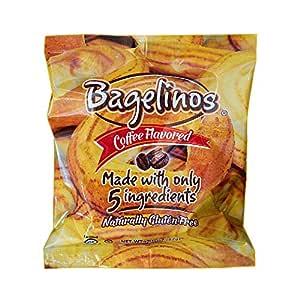Bagelinos Coffee Bagel, Gluten-Free, 2.9 OZ each, Box of ...