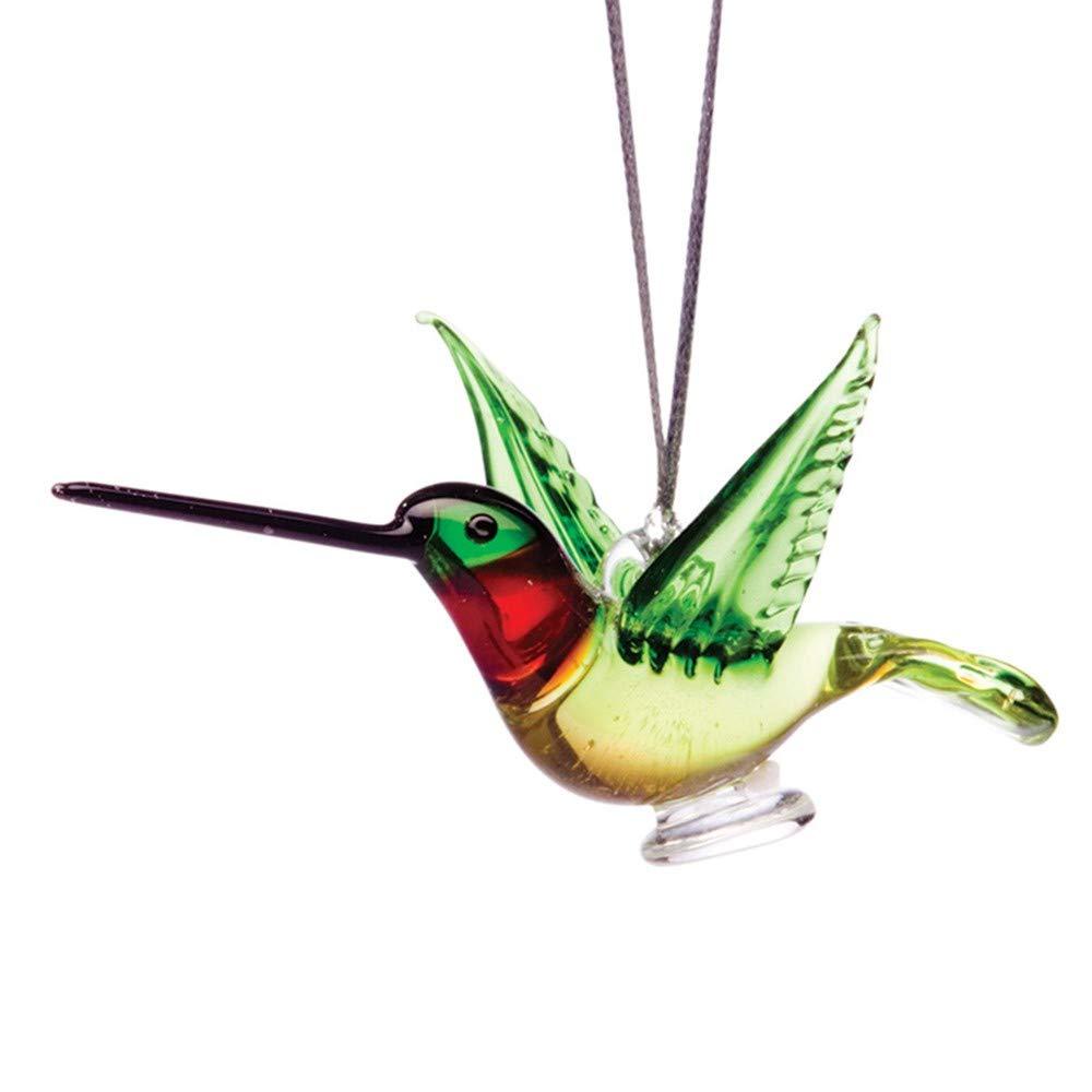 Dynasty Gallery Glass Ruby Throated Hummingbird
