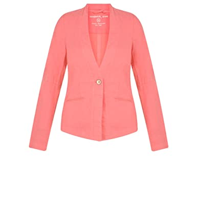 f5748ad3dfc Sandwich Clothing - Easy Fit Linen Jacket