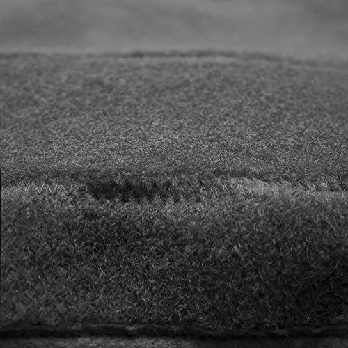 Poly Carpet Coverking Custom Fit Dashcovers for Select Lexus ES300//ES330 Models Black