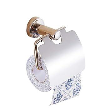 NHK-MX Papel higiénico Pared prevención de la oxidación de la Pared Medio rodeado de Caja de pañuelos de baño: Amazon.es: Hogar