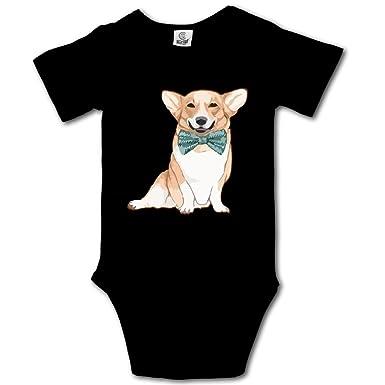 beac2729 Amazon.com: HUDS VIFV Cute Bow-tie Corgi Dog Baby Unisex Short Sleeve  Onesies Bodysuits: Clothing