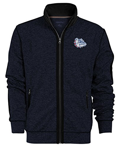 Gonzaga Bulldogs Jacket (NCAA Gonzaga Bulldogs Men's Premium Full Zip Track Jacket, X-Large, Admiral)