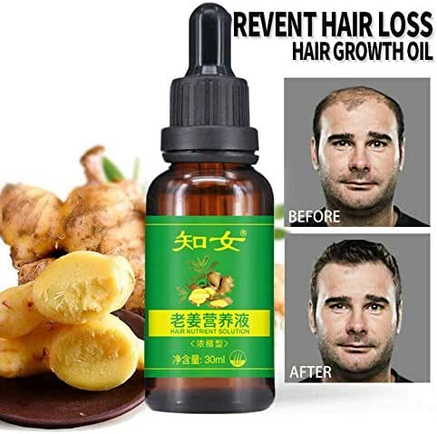 ReGrow 7 Day Ginger Germinal Hair Growth Serum Hairdressing Oil-Loss Treatements