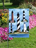 Outer Banks Lighthouse Hatteras Beach Garden Flag Review